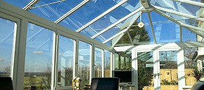 Roof cleaning and conservatory cleaning in Winchester and Kings Worthy
